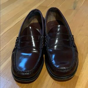 LL Bean Classic Penny Loafers, leather sole
